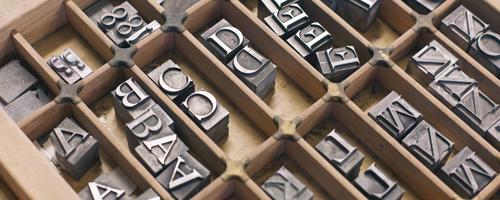 letter-press
